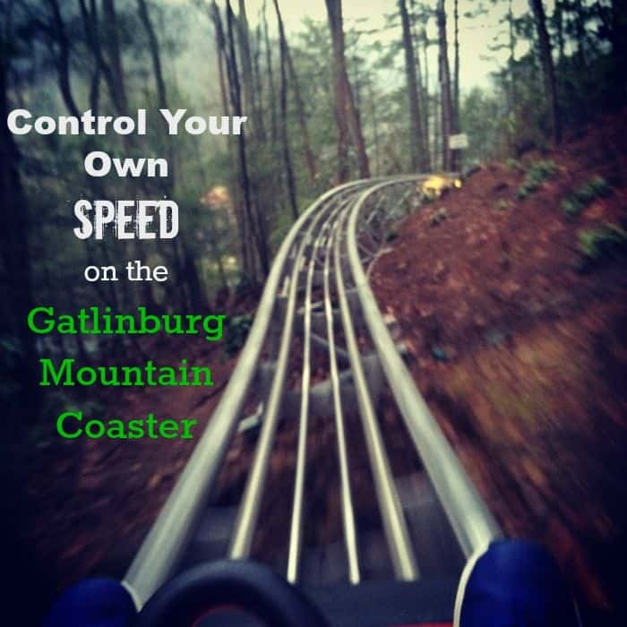 Control Your Own Speed on The Gatlinburg Mountain Coaster