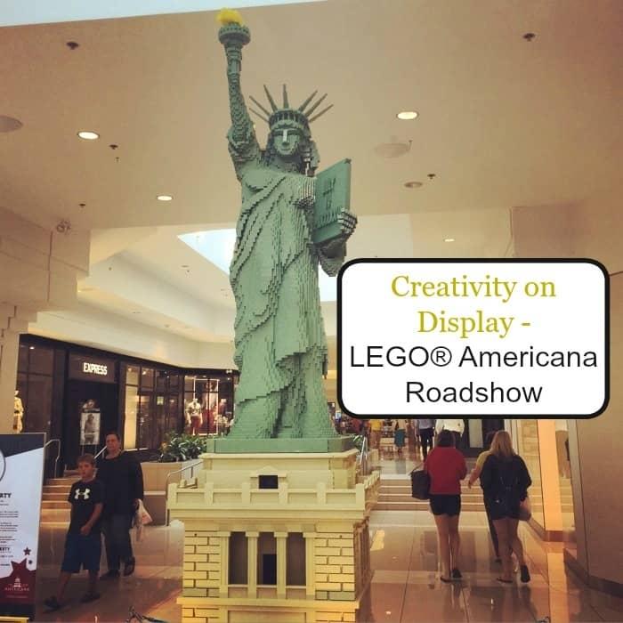 Creativity on Display - LEGO® Americana Roadshow