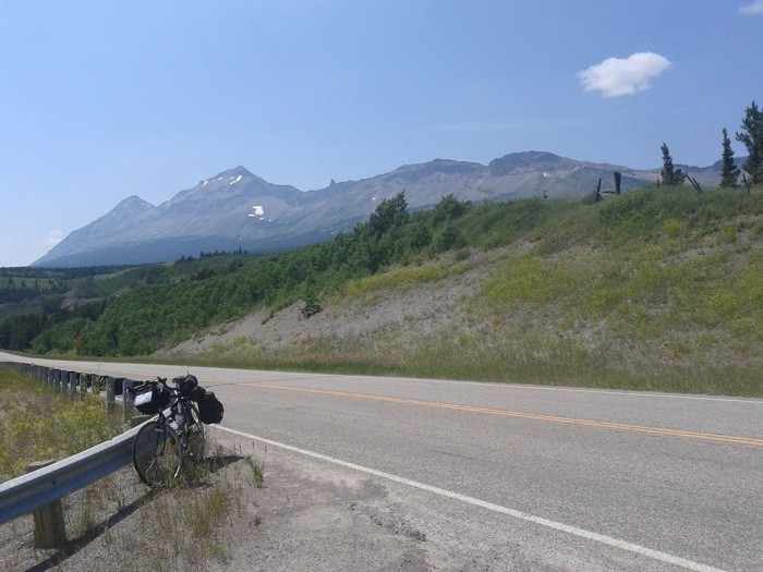 Day 13 - looking back at Glacier