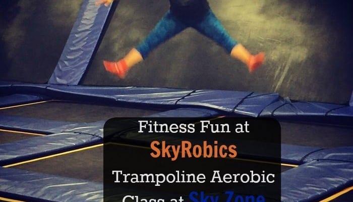 Fitness Fun at SkyRobics Trampoline Aerobic Class at Sky Zone