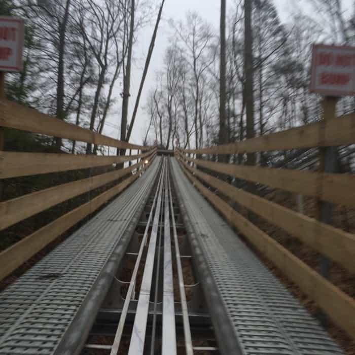 Gatlinburg Mountain Coaster 13