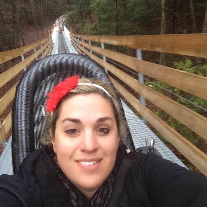 Gatlinburg Mountain Coaster 14