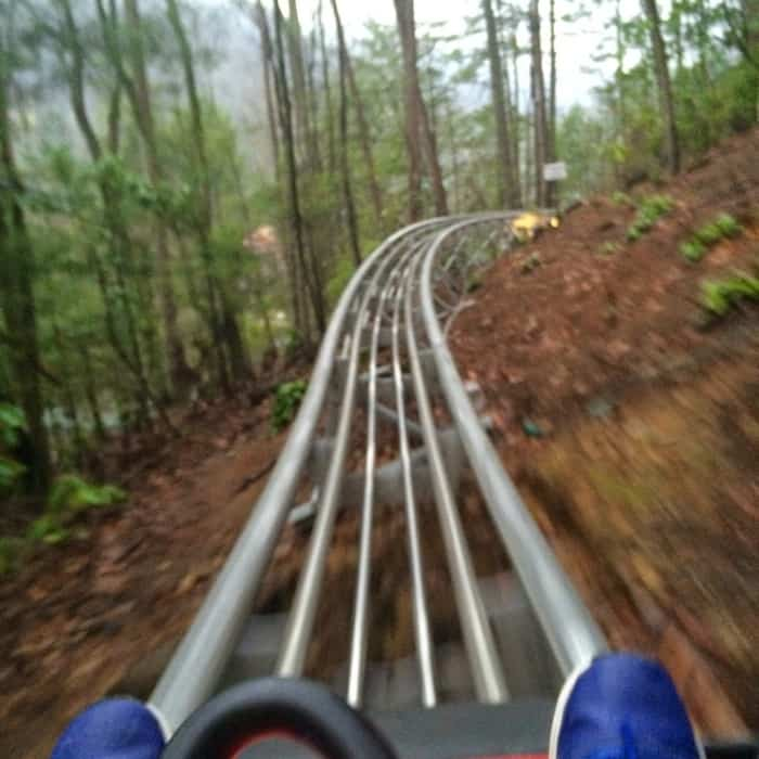 Gatlinburg Mountain Coaster 18