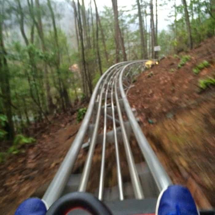 Gatlinburg Mountain Coaster 18