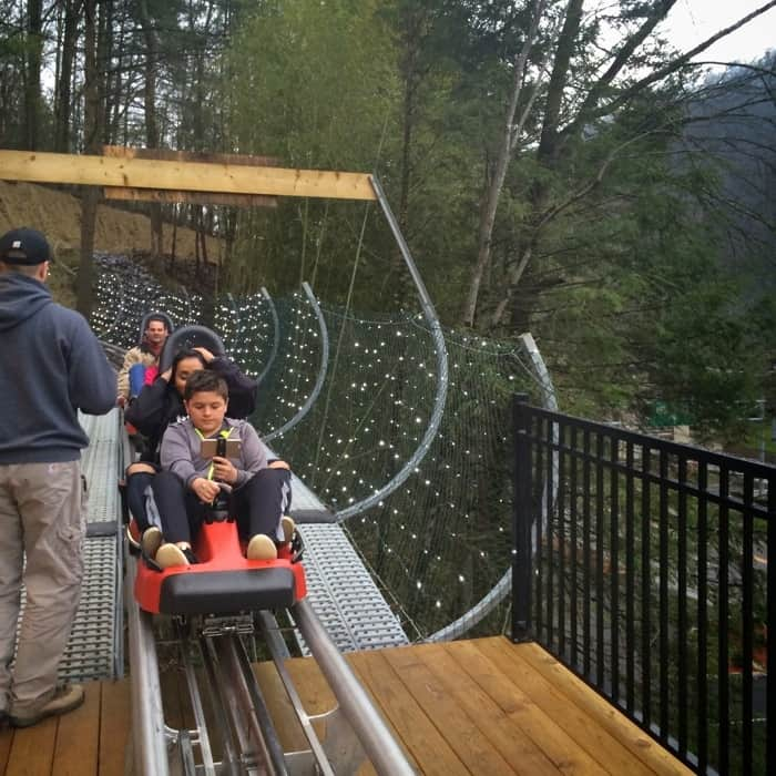 Gatlinburg Mountain Coaster 21