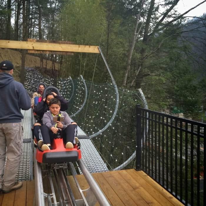 Gatlinburg Mountain Coaster 21