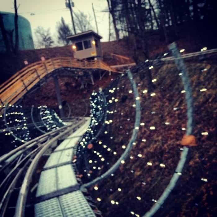 Gatlinburg Mountain Coaster 29