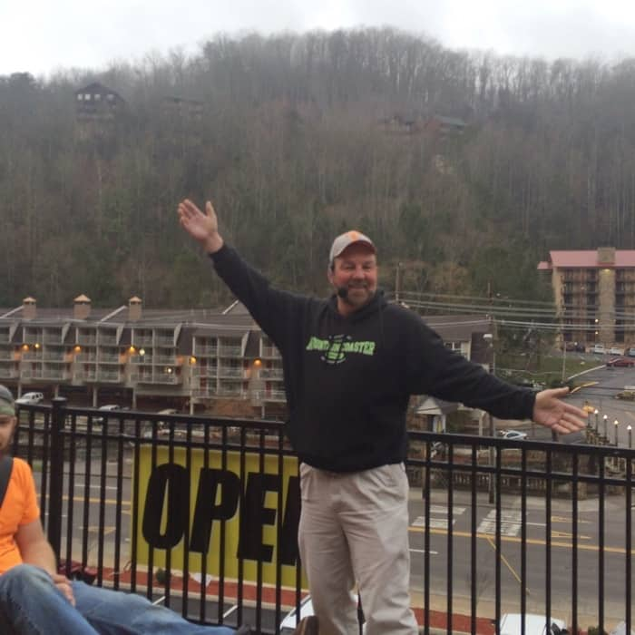 Gatlinburg Mountain Coaster 3