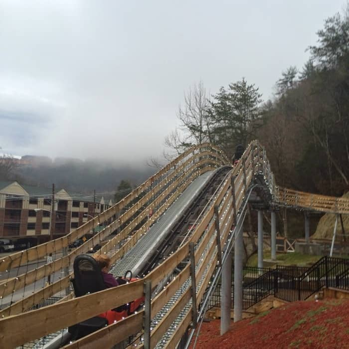 Gatlinburg Mountain Coaster 4