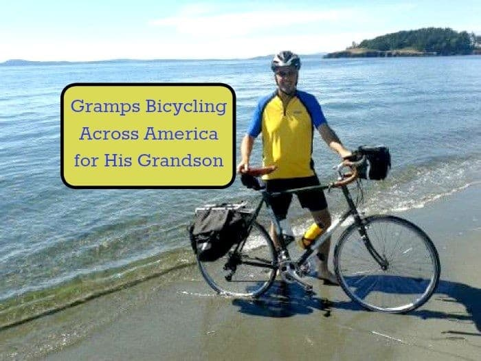 Gramps Bicycling Across America for His Grandson