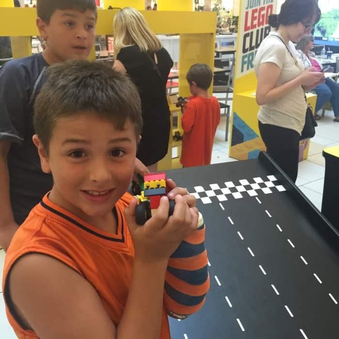 LEGO® Americana Roadshow Play Area