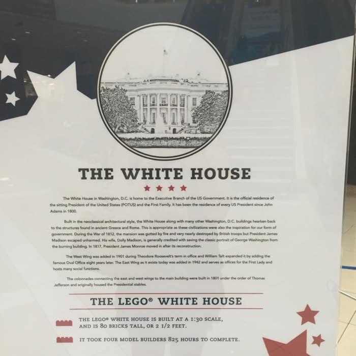 LEGO® White House stats