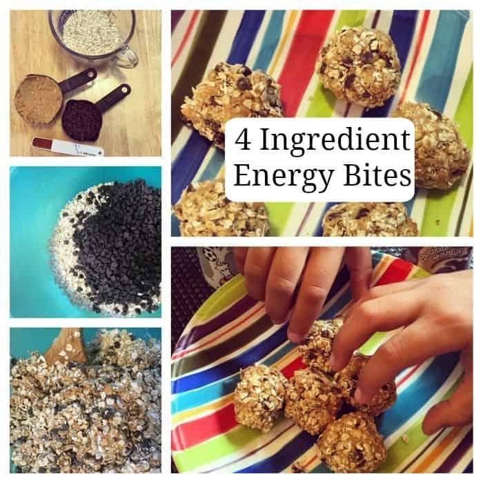4 Ingredient Energy Bites