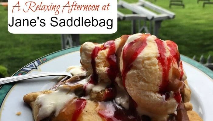 A Relaxing Afternoon at Jane's Saddlebag