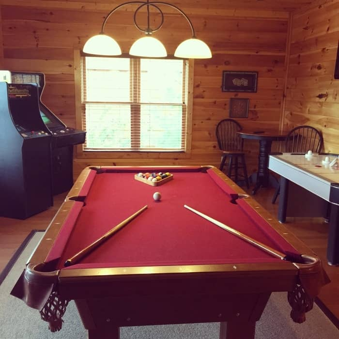 Gatlinburg Falls Resort Game Room