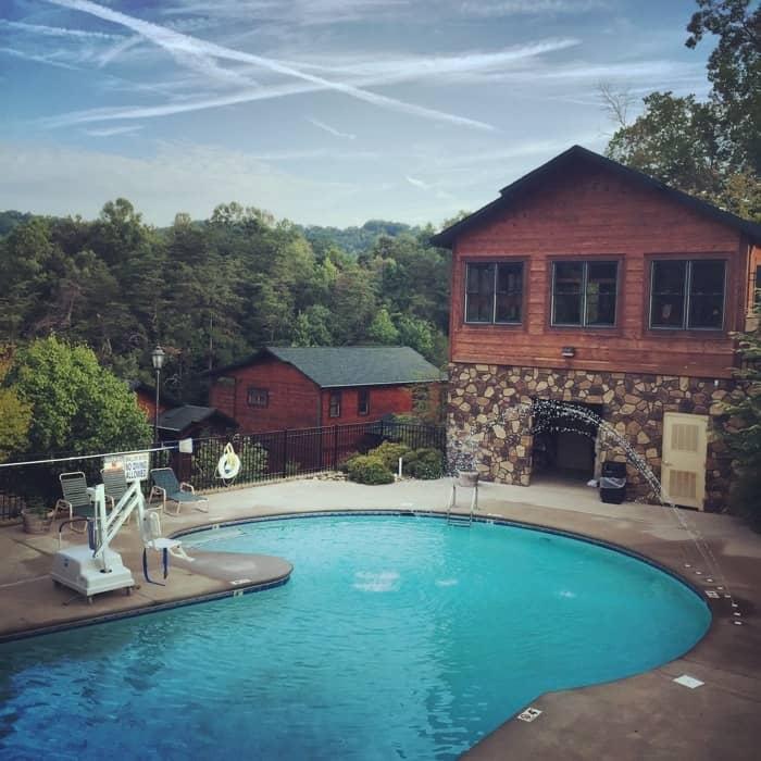 A smoky mountain vacation at gatlinburg falls resort - Gatlinburg falls resort swimming pool ...