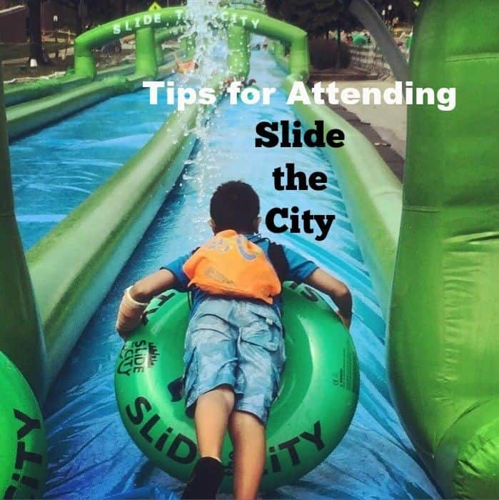 Tips for Attending Slide the City