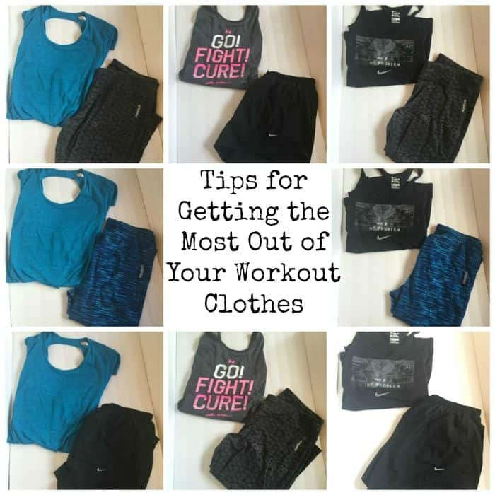 Tips for Getting the Most Out of Your Workout Clothes