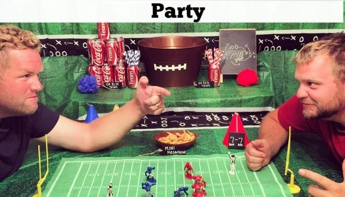 3 Ways to Use Coke for a College Football Rivalry Themed Party