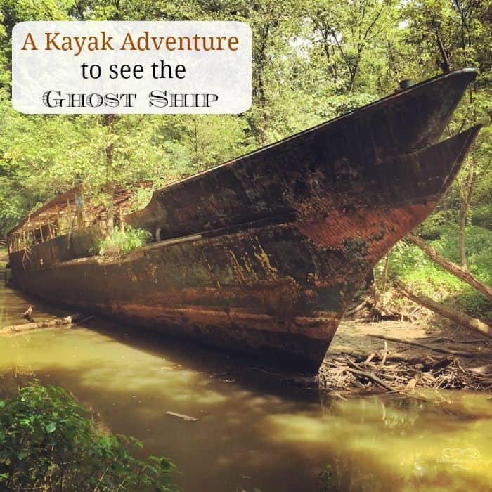 A Kayak Adventure to See the Ghost Ship 2