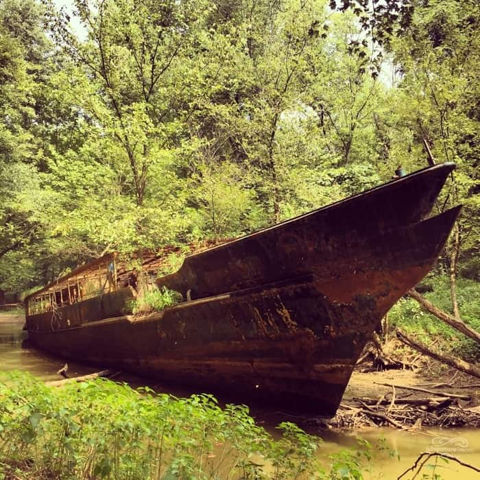 Ghost Ship in Kentucky