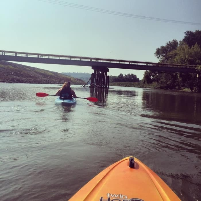 Kayak to the Ohio River