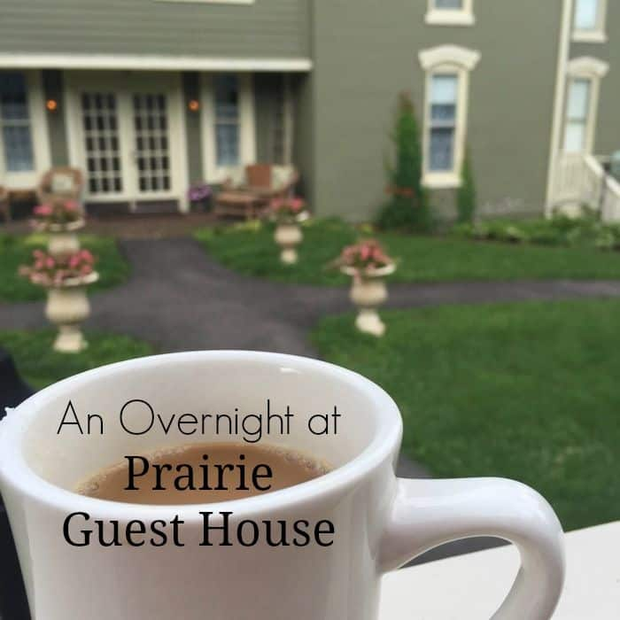 An Overnight at Prairie Guest House