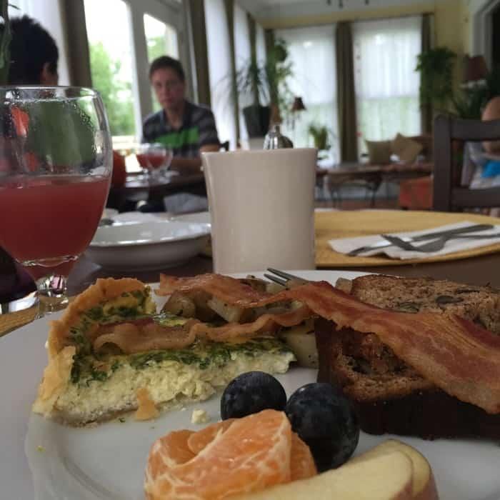 Breakfast at Prairie Guest House