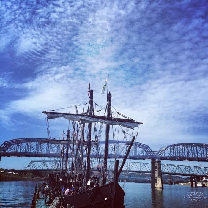 Columbus Ships Replicas 3
