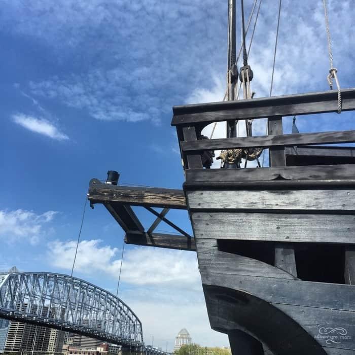 Columbus Ships Replicas 40