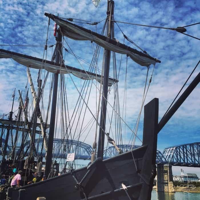 Columbus Ships Replicas 5