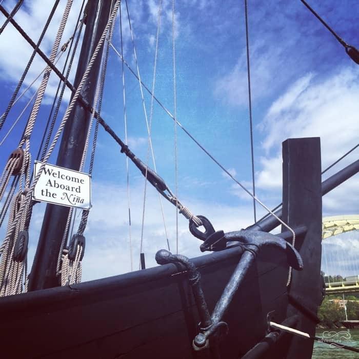 Columbus Ships Replicas 50