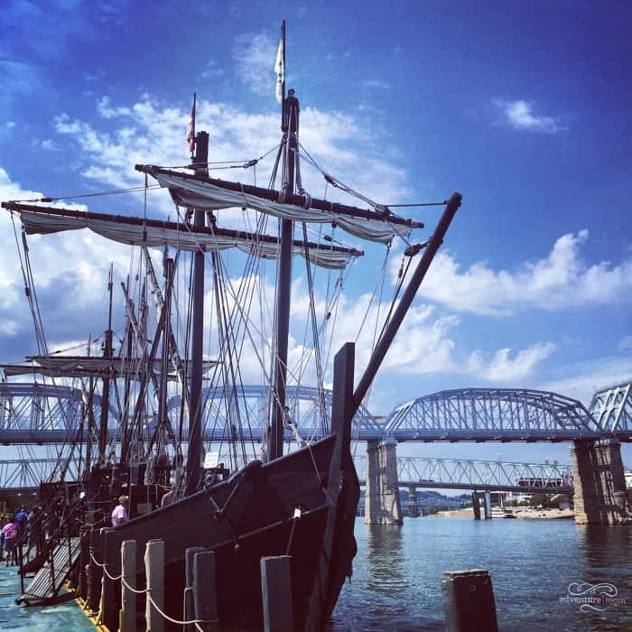 Columbus Ships Replicas 55