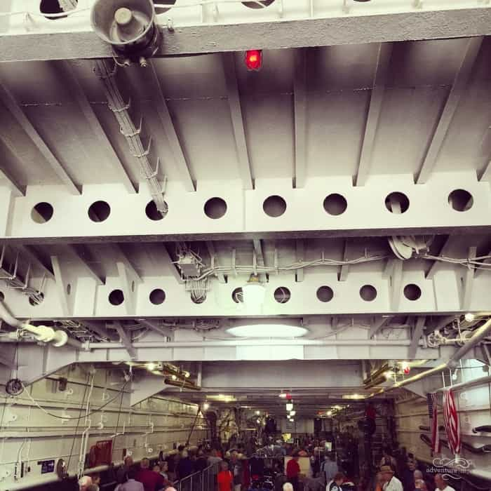 Inside the USS LST 325