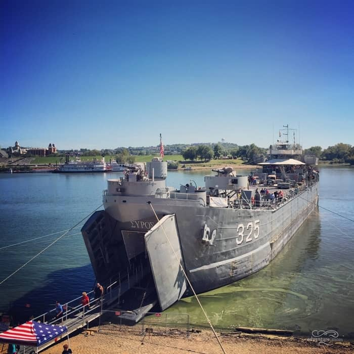 USS LST 325 tour