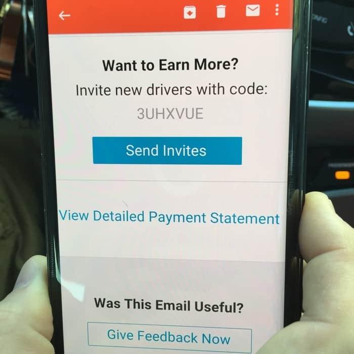 Uber driver discount code