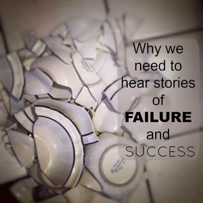 Why we need stories of failure and success