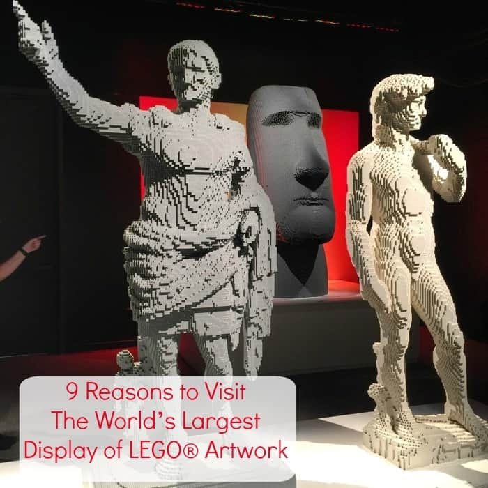9 Reasons to Visit The World's Largest Display of LEGO® Artwork