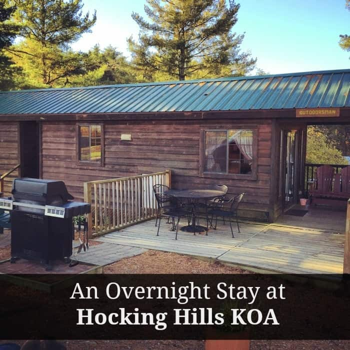 An Overnight Stay at Hocking Hills KOA