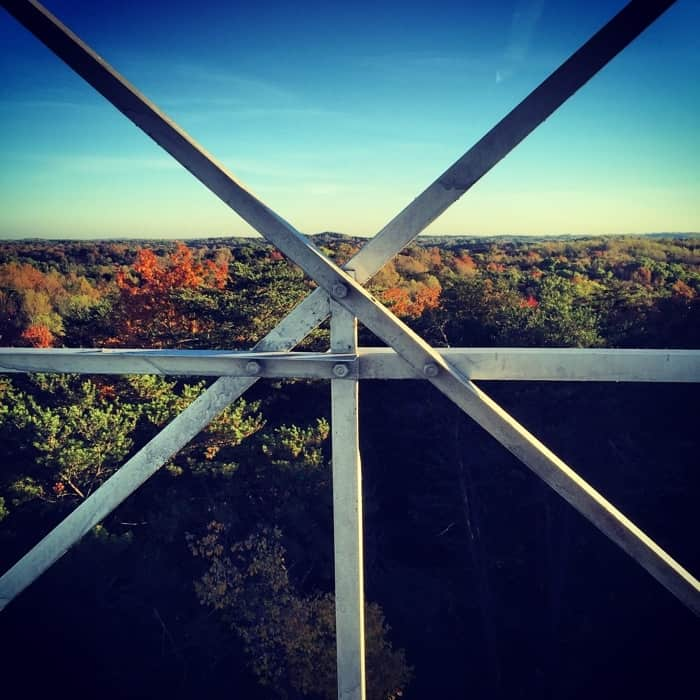 Ash Cave Fire Tower View