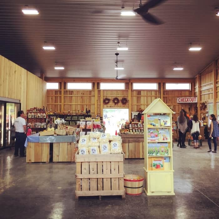 Blooms and Berries Farm Market Barn