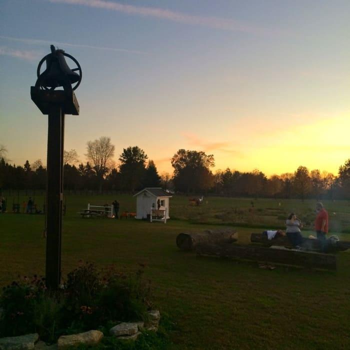 Sunset at Bonnybrook Farms
