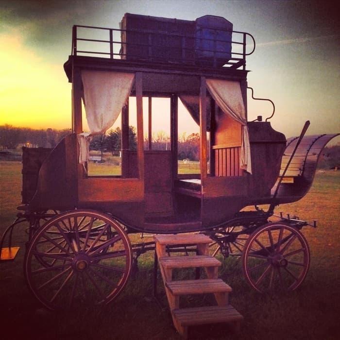 stagecoach at Bonnybrook Farms