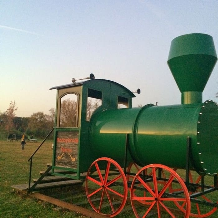 Bonnybrook Farms train