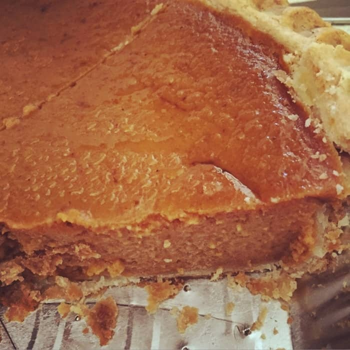 Frisch's pumpkin pie 2