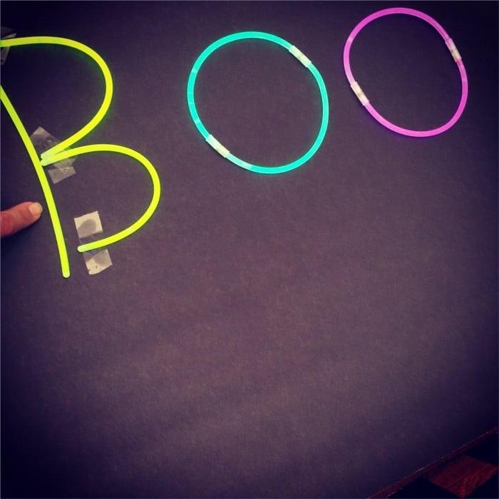 Glow in the Dark BOO Kit 6