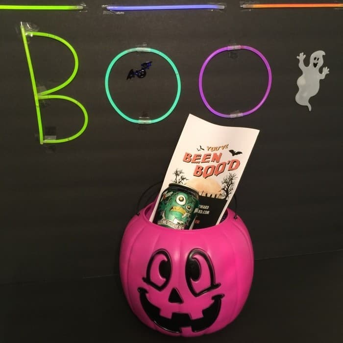 Glow in the Dark BOO Kit 8