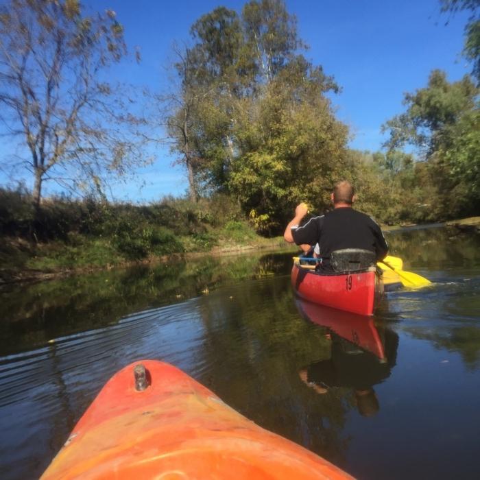 Hocking Hills Adventures canoe