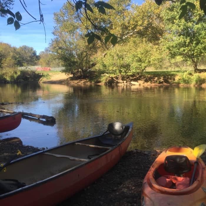 Hocking Hills Adventures kayak