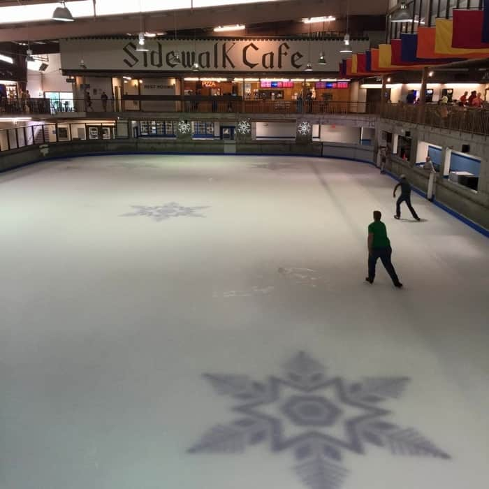 Ice Skating at Ober Gatlinburg